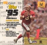1995 Topps Series 1 Football Jumbo Box