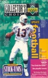 1995 Upper Deck Collector's Choice Update Football Hobby Box