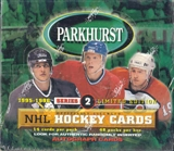 1995/96 Parkhurst Series 2 Hockey Hobby Box