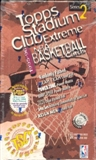 1995/96 Topps Stadium Club Series 2 Basketball Hobby Box