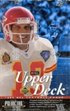 1995 Upper Deck Football Retail Box