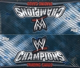 2011 Topps WWE Champions Wrestling Box
