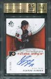 2008/09 Upper Deck SP Authentic #237 Claude Giroux Auto RC BGS 9.5 Gem Mint