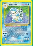 Pokemon Base Set 2 Single Blastoise 2/130 - LIGHT PLAY
