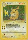 Pokemon Fossil Single Raichu 14/62