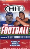 2011 Sage Hit High Series Football Hobby Box