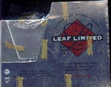 1996 Leaf Limited Baseball Hobby Box