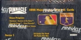 1996 Pinnacle Series 1 Baseball Hobby Box