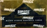 1996 Pinnacle Zenith Baseball Hobby Box
