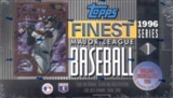 1996 Topps Finest Series 1 Baseball Hobby Box