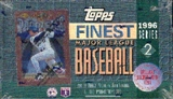 1996 Topps Finest Series 2 Baseball Hobby Box