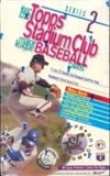 1996 Topps Stadium Club Series 2 Baseball Hobby Box