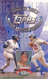 1996 Topps Series 2 Baseball 36 Pack Box