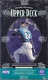 1996 Upper Deck Series 1 Baseball Hobby Box