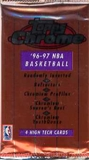 1996/97 Topps Chrome Basketball Hobby Pack