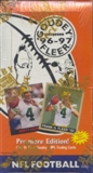 1996 Fleer Goudey Football Hobby Box