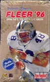 1996 Fleer Football Hobby Box