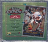 1996 Topps Chrome Football 20 Pack Box