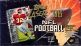 1996 Topps Laser Football Hobby Box