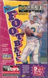 1996 Upper Deck Collector's Choice Update Football Hobby Box