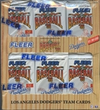 1996 Fleer Los Angeles Dodgers Baseball Box