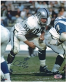 Jim Otto Oakland Raiders Autographed 8x10 Photo w/HOF Inscription (A)