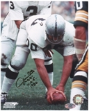 Jim Otto Oakland Raiders Autographed 8x10 Photo w/HOF Inscription (B)