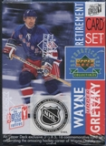 1999/00 Upper Deck Wayne Gretzky Retirement Hockey Factory Set