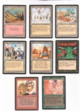 Magic the Gathering Arabian Nights A Complete Set UNPLAYED