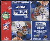 2002 Upper Deck XL Football 24-Pack Box