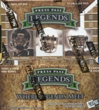 2011 Press Pass Legends Football Hobby Box
