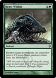 Magic the Gathering New Phyrexia Single Beast Within - NEAR MINT (NM)