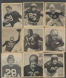 1948 Bowman Football Starter Set (43 Cards - 39 Different) (EX)