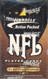 1997 Pinnacle Action Packed Football Hobby Box