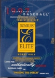 1997 Donruss Elite Baseball Hobby Box