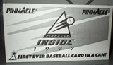 1997 Pinnacle Inside Baseball Case (48 cans)