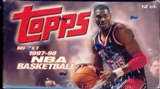 1997/98 Topps Series 1 Basketball Jumbo Box