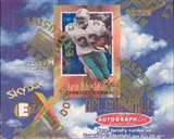 1997 Fleer Skybox E-X 2000 Football Hobby Box