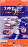 1997 Pinnacle X-Press Football Hobby Box