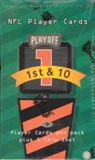 1997 Playoff First & Ten Football Hobby Box