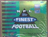 1997 Topps Finest Series 2 Football Hobby Box