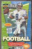 1997 Upper Deck Collector's Choice Series 1 Football Hobby Box