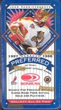 1997/98 Donruss Preferred Hockey Hobby Box
