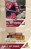 1997/98 Pinnacle Beehive Hockey Hobby Box