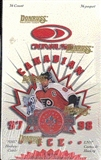 1997/98 Donruss Canadian Ice Hockey Hobby Box