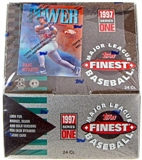 1997 Topps Finest Series 1 Baseball Hobby Box