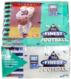 1997 Topps Finest Series 1 Football Hobby Box