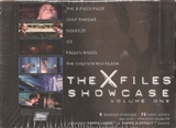 X-Files Showcase Volume One Hobby Box (1997 Topps)