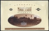 1995 Upper Deck Minor League Baseball Hobby Box