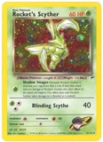 Pokemon Gym Heroes Single Rocket's Scyther 13/132